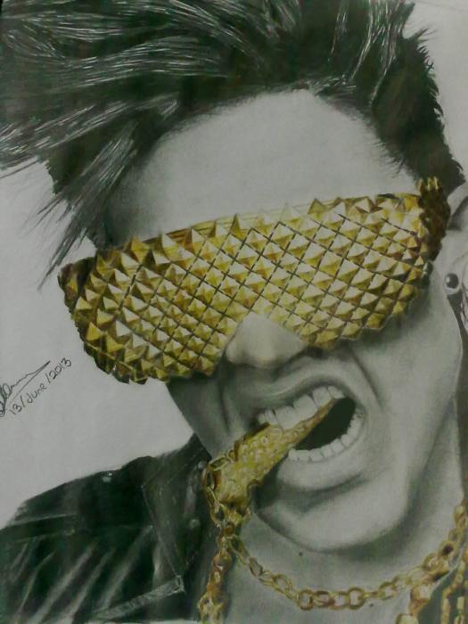Adam Lambert by Haleema